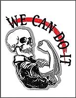 【FOX REPUBLIC】【スカル We Can Do It】 白光沢紙(フレーム無し)A2サイズ
