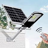 Luz De Calle Led Con Energía Solar, 10W ~ 300W Ip65 Luz De Poste Con Energía Solar Impermeable - Con Control Remoto, Luces De Inundación Solares Para Parques / Garajes / Iluminación De Caminos, 300W