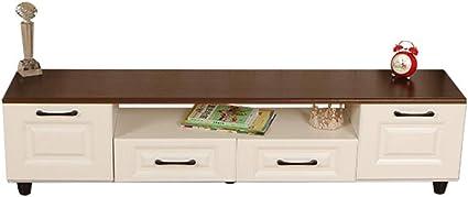 Vobajf Meuble Tv Meuble Tv Maison Moderne De Stockage For Le Salon De Divertissement Cabinet Tv Supports Tv Couleur White Size 150x30x38cm Amazon Fr Cuisine Maison