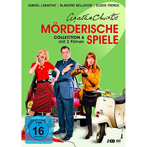 Agatha Christie: Mörderische Spiele - Collection 6 [2 DVDs]