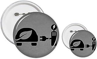 Station de recharge automatique pour véhicules énergétiques, protection de l'environnement avec épingles, badge et bouton