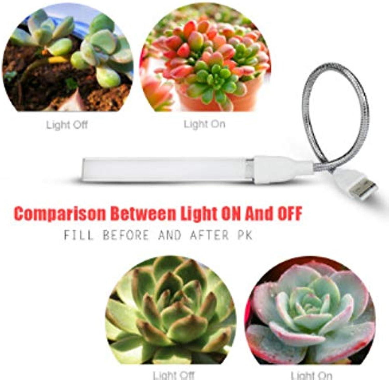 Xiadsk Led Wachstum Licht UV-Licht LED Pflanze USB DC5V 3W Vollspektrum LED Pflanzenwachstum Glühbirne Wachstum Licht
