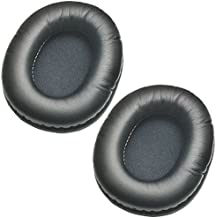 Replacement Protein Leather Earpads Ear Cushion for SteelSeries Arctis 3 5 7 Arctis Pro Gaming Headset Headphones ATH-M40fs & Similar Large Over-The-Ear Headphones (1 Pair)