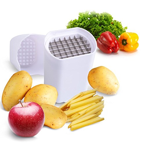 Perfect Fries One Step Natural French Fry Cutter Vegetable Fruit Durable Potato Very easy to clean as it is dishwasher safe