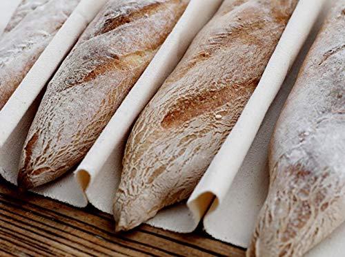 Paño de panadero grande 100 % natural para fermentación 18x29.5inch