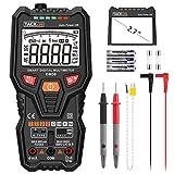 Tacklife Multimeter DM06 Probador eléctrico digital Auto Range 6000 cuenta amperímetro del voltímetro TRMS Kit de herramientas de reparación Ohmmeter