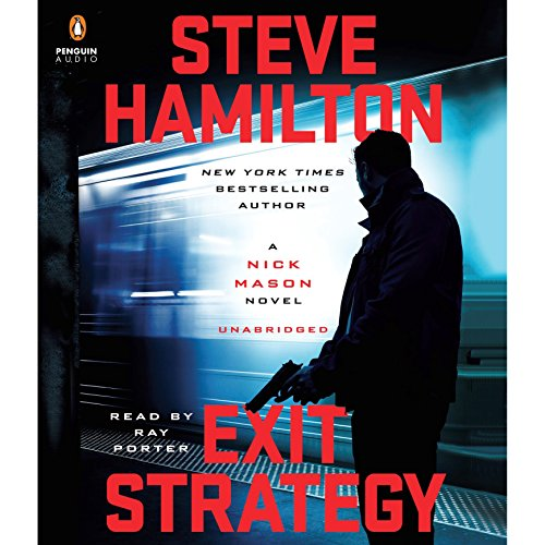 Exit Strategy audiobook cover art