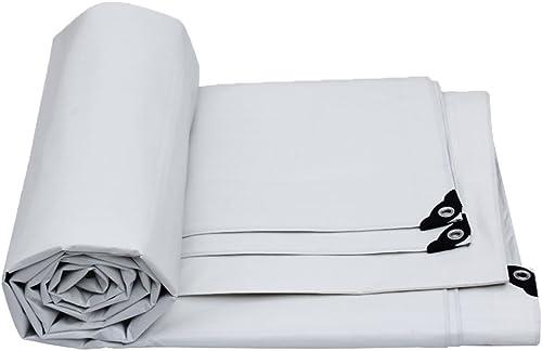 ZHOU LI Bache légère Blanche, Couverture imperméable de bache de Toit de Jardin Couverture de Pluie de Jardin, Nappe moulue, bache de Camping pour la Tente Coupe-Vent imperméable à l'humidité