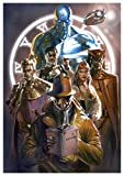 Instabuy Poster Watchmen (D) Characters - A3 (42x30 cm)