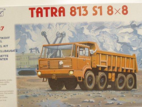 SDV LKW Truck Tatra 813 S1 8 x 8 Kipper Modellbau Kunststoff Modellbausatz 1:87 H0