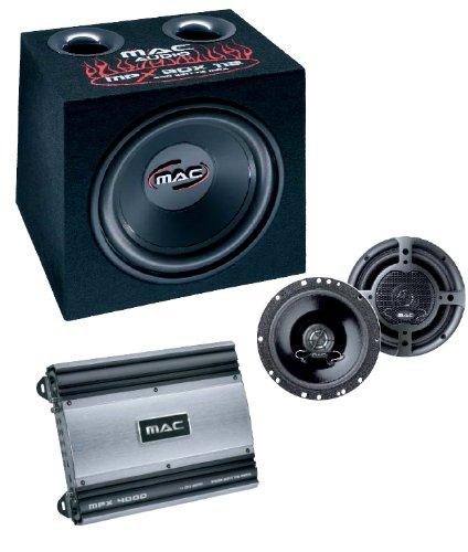 Mac Audio Mac Xtreme 4000 Lautsprecher Set (1 Paar MPE 16.2, 1 x MPX 4000, 1 x MPE 112 P)