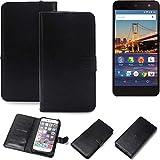 K-S-Trade® Handy Schutz Hülle Für General Mobile 4G Schutzhülle Bumper Schwarz 1x