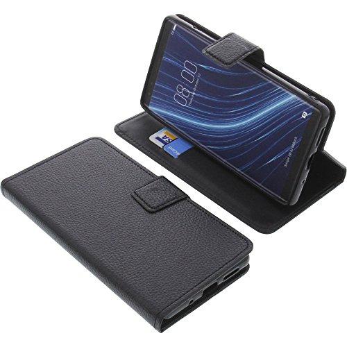 foto-kontor Tasche für Archos Diamond Omega Book Style schwarz Schutz Hülle Buch