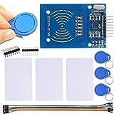 DAOKI RFID Module RC522 Kits MFRC RC522 RFID Reader Module with S50 13.56MHz RFID White Card and Key Card for Mifare Arduino Raspberry Pi