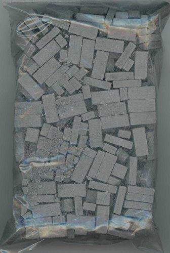 Dollhouse Miniature 325 Piece Charcoal Brick
