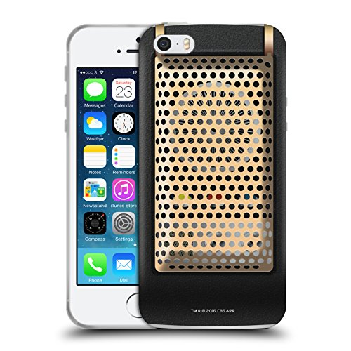 Head Case Designs Officially Licensed Star Trek Communicator Closed Gadgets Soft Gel Case Compatible with Apple iPhone 5 / iPhone 5s / iPhone SE 2016