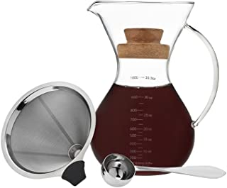 Artisan Roast Coffee Maker, Pour Over Drip Brew, 1L / 7 Cup