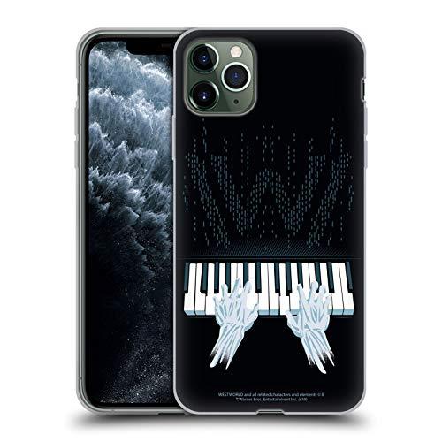 Head Case Designs Offizielle Westworld Piano Grafiken Soft Gel Handyhülle Hülle Huelle kompatibel mit Apple iPhone 11 Pro Max