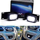 Compatible with Toyota Tundra, Tacoma, 4Runner, Venza, Matrix, Sienna as well as many Lexus/Scion vehicles with OEM fogs Complete kit includes (2) mini Single Row (SR) 10W CREE LED pod lights, industries grade OEM foglamp location mount brackets and ...