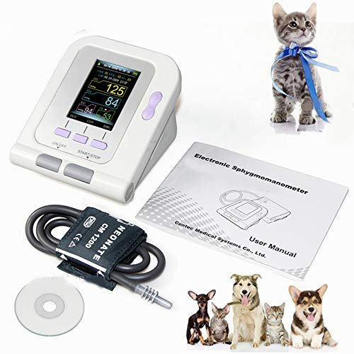 TQ Digitaler Veterinär-Blutdruckmessgerät NIBP Manschette, Hund/Katze/Haustiere, Software