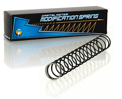 Blasterparts - Tuning-Feder passend für Nerf N-Strike Elite Mega RotoFury - Dartblaster Modding für Mehr Reichweite und Schnelle Darts – Blaster-Zubehör