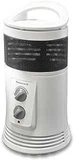 Honeywell HZ425E Calefactor cerámico envolvente 360º, 1800 W, 53 Decibeles, Blanco