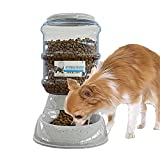 NOA Automatic Pet Feeder | Food Dispenser for Cats and Dogs - Gravity Feeder - Automatic Cat Feeder/Automatic Dog Feeder - Dog and Cat Feeding Supplies, Dog Food Dispenser, Cat Food Dispenser