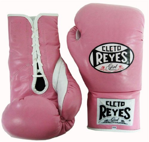 Cleto Reyes Official Fight Boxing Gloves - Pink - 10oz