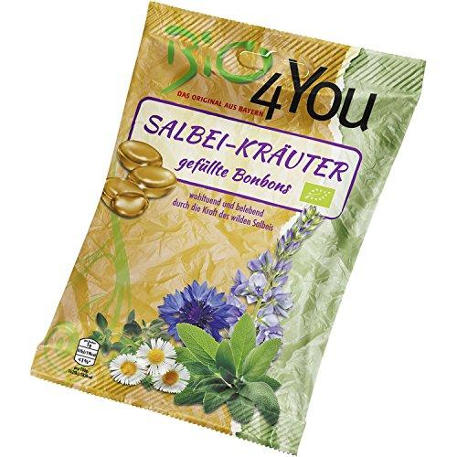 Bio4you Salbei-Kräuter-Bonbons (75 g) - Bio