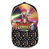 ドラゴンクエスト 子供用 紫外線対策 スポーツ帽子 速乾 軽薄 野球帽 男女兼用 Yellow
