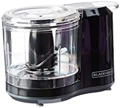 One-Touch Electric Chopper - Chopping made simple with one-touch pulse control 1.5-Cup Capacity Dishwasher-Safe Removable Parts Improved Chopping Assembly and Lid Stainless Steel Blades - Bi-level stainless steel blades stay sharp, providing long-las...