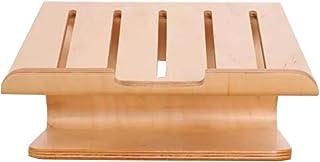 MEI XU Soporte de Madera del Cuaderno de Apple Base, radiador de Escritorio del Ordenador, Soporte de Ordenador del Escritorio de la Base de Madera, los 27.3cm * 23.7cm * 14.1cm @