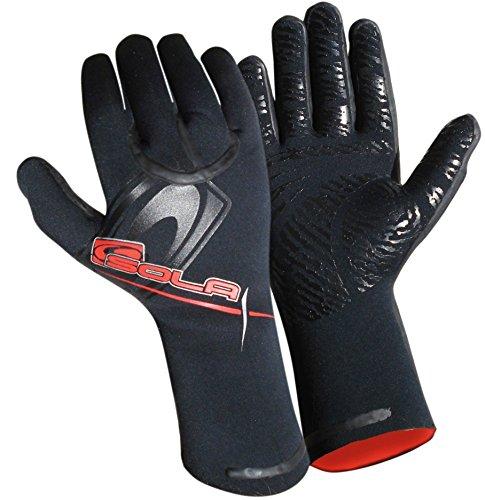 SOLA Superstretch Neopren-Handschuhe - schwarz, XL /5 mm