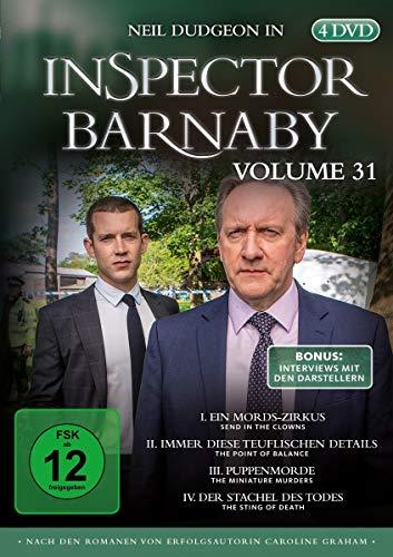 Inspector Barnaby Vol. 31 [4 DVDs]