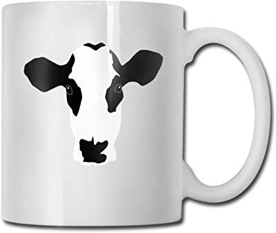 マグカップ 牛柄 牛 乳牛 コーヒーカップ ティーカップ コップ 面白い食器 かわいい 陶器 大容量 プレゼント
