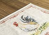 Maison d' Hermine Campagne 100% Baumwolle Set mit 4 Tischsets für den Esstisch   Küche   Hochzeit   Alltag   Dinnerpartys   Frühling/Sommer (33 cm x 48 cm) - 3