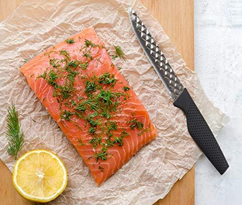 Mediashop Harry Blackstone Airblade Messer Set – scharfe und langlebige Küchenmesser – Kochmesser mit Antihaft-Klinge – Set aus 10 Messern für Jede Gelegenheit - 5