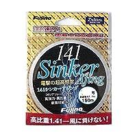Fujino(フジノ) ライン 141シンカーアジング ゼクシオン 150m 0.5号 6.6lb(3kg) ダークグレー L-12G