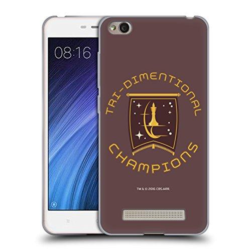 Head Case Designs Licenciado Oficialmente Star Trek Champion Logos de la Flota Estelar Carcasa de Gel de Silicona Compatible con Xiaomi Redmi 4a