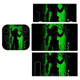 Predator Claws Silhouette Green Shadow Theme Switch exclusive skin, Nintendo Switch sticker protective film, Switch full device exclusive skin sticker protective film