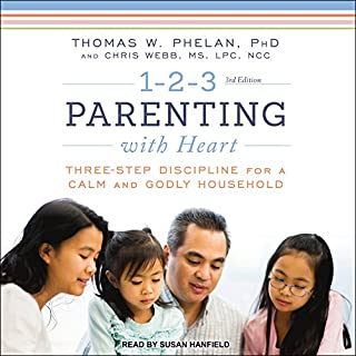 1-2-3 Parenting with Heart audiobook cover art