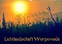 Lichtlandschaft Worpswede (Wandkalender 2022 DIN A2 quer): Lichtdurchflutete Fotos der Landschaft um Worpswede im Teufelsmoor (Monatskalender, 14 Seiten )