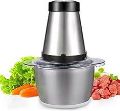 Sponsored Ad - Food Processor, Hongeek 1.2L Food Processors Chopper Meat Mixer Grinder, 300W Mini Small Food Processor Cho...