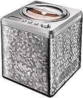 Unold 48870 profesjonalna maszyna do lodów z kompresorem, pojemność na 2 l lodów, elegancka obudowa ze stali...