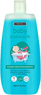 Cornells Wellness For Baby, Hypoallergenic & Alcohol & Paraben Free, Bubble Bath 500ml, For Kids