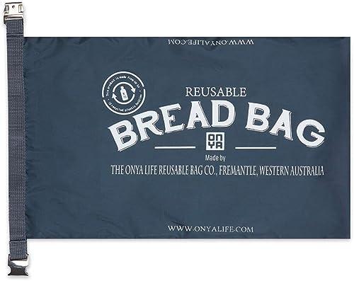 Onya Reusable Bread Bag Charcoal