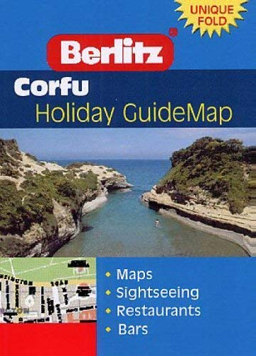 Corfu Berlitz Guidemap