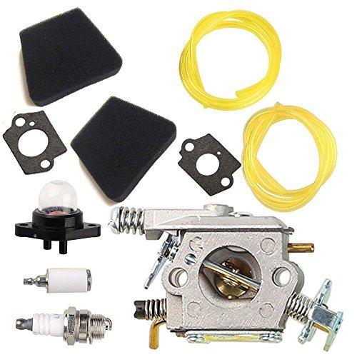 Tucparts Carburateur filtre à air pour Poulan 222 262 1900 1950 2155 Craftsman Walbro Wt-89 Wt-891 Wt-20 Wt-324 Wt-391