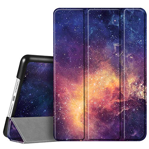 FINTIE SlimShell Case for New iPad 10.2' 8th Generation 2020 / iPad 7th Generation 10.2 Inch 2019, Super Thin Lightweight Stand Protective Cover, Auto Sleep/Wake Feature, Galaxy