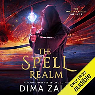 The Spell Realm audiobook cover art